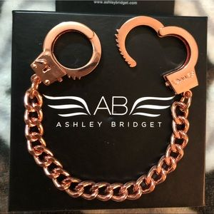 "Bracelet- Ashley Bridget- ""50 Shades of Grey"""